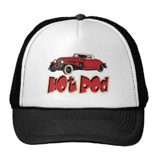Red Hot Rod Trucker Hat