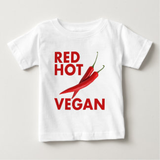RED HOT VEGAN BABY T-Shirt
