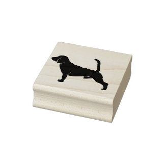red hound rubber stamp