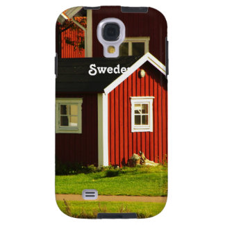 Red Houses in Sweden Galaxy S4 Case