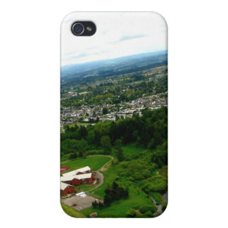 Red Houses iPhone 4/4S Cases