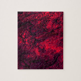 Red Ice Jigsaw Puzzle