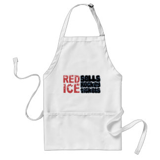Red Ice Sells Hockey Tickets Apron