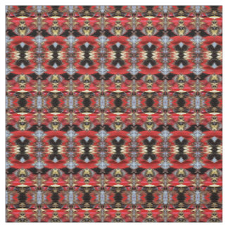 Red Ikat Fabric