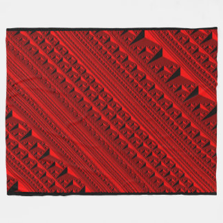 Red Inception blanket