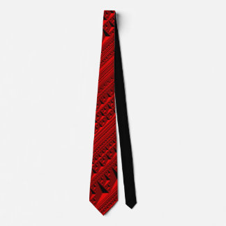 Red Inception tie