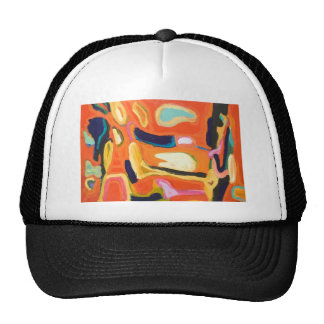 Red Interior ( abstract expressionism ) Cap