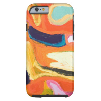 Red Interior ( abstract expressionism ) Tough iPhone 6 Case