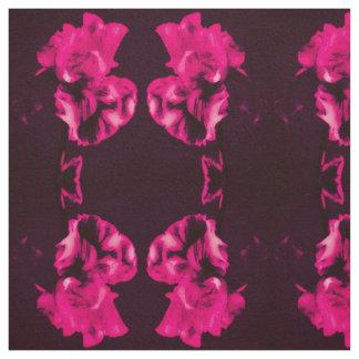 Red Iris Fabric