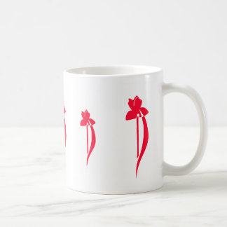 Red Iris Mug