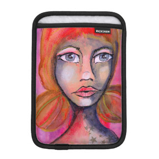 Red Jane iPad Mini Sleeve
