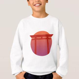 Red Japanese Torri Gate - Sunset - Zen - Japanese Sweatshirt