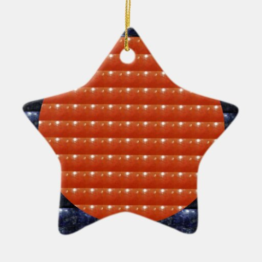 RED Jewels DOTS Circles Round Disc Celebrations Ornaments