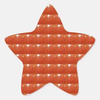 RED Jewels DOTS Circles Round Disc Celebrations Star Sticker