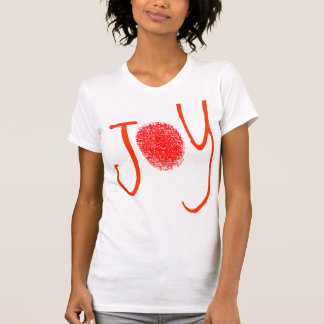 Red Joy Fingerprint T-Shirt