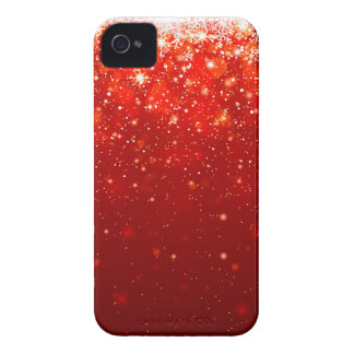 red joyous shining pattern iPhone 4 cover