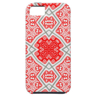 Red kaleidoscope case for the iPhone 5