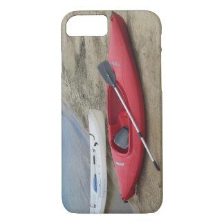 Red Kayak iPhone 7 Case