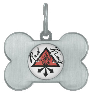 Red King Pet Tag