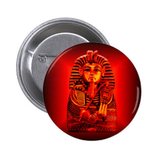 Red King Tut 2 Pinback Buttons