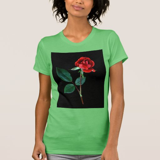 Red Knockout Rose T-shirt