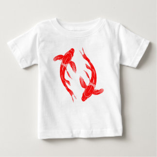 Red Koi Fish Baby T-Shirt
