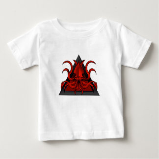 red kraken illustration baby T-Shirt
