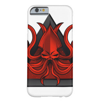 red kraken illustration barely there iPhone 6 case