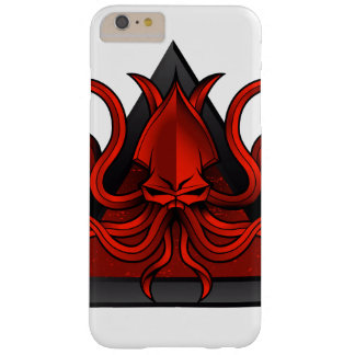 red kraken illustration barely there iPhone 6 plus case
