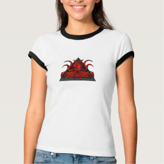 red kraken illustration T-Shirt
