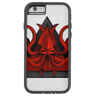 red kraken illustration tough xtreme iPhone 6 case