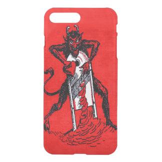 Red Krampus Slicing Heart Heartbreaker iPhone 7 Plus Case