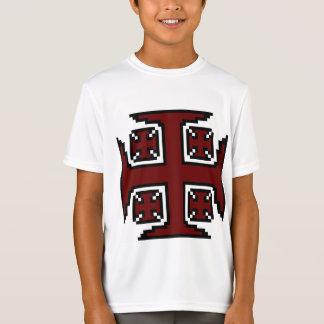 Red Kross™ Boys' Double-Dry Jersey Tee