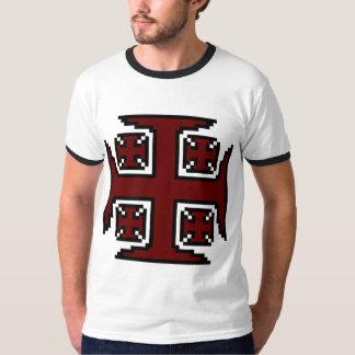 Red Kross™ Mens' Ringer T-Shirt