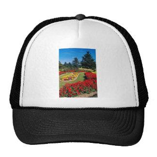 Red Kyoto Botanical Garden Kyoto Japan flowers Trucker Hats