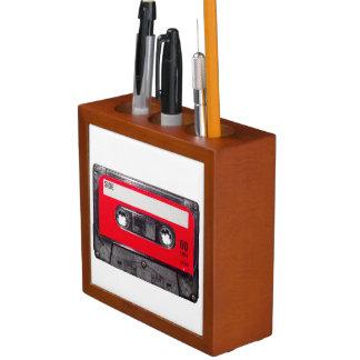 Red Label Cassette Desk Organisers