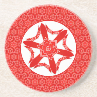 Red Lace Coasters