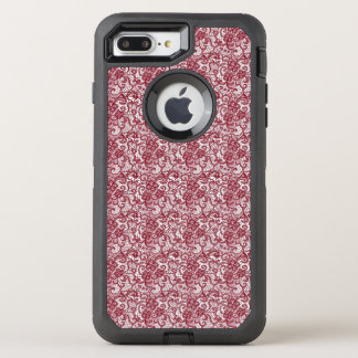Red Lace Print, Otterbox Case