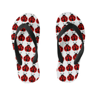 Red Lady Bugs Thongs