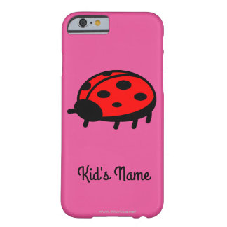 Red ladybug barely there iPhone 6 case
