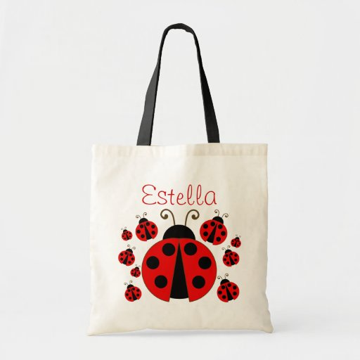 Red Ladybug Tote Bag