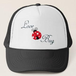 Red  Ladybug Trucker Hat