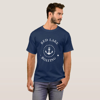 Red Lake Boating T-Shirt