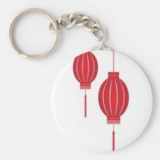 Red lantern design keychain