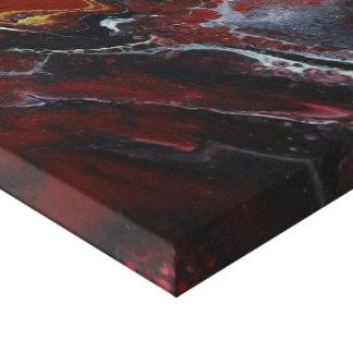 Red Lava Canvas Print