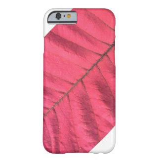 RED LEAF (CLOSE UP) PHONE CASE