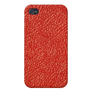 Red leather ...Not iPhone 4/4S Covers