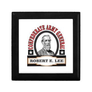 red lee badge small square gift box