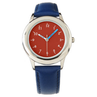 Red Liberty Wrist Watches