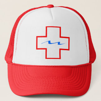 Red Lifeguard Plus Hat